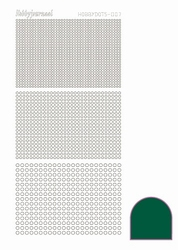 Stickervel Hobbydots Adhesive STDA072 Green