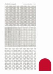 Stickervel Hobbydots Adhesive STDA074 Red