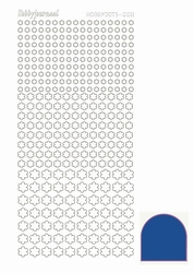 Stickervel Hobbydots Mirror STDM08A Blue