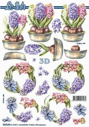 A4 Knipvel Le Suh 8215396 Hyacinten krans