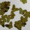 Vlinder pailletten PMG015 goud