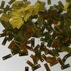 Rechthoek pailletten PL015 goudgeel