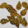 Blaadjes pailletten PLB018 goud-holografisch