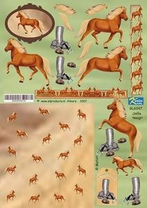 A4 Knipvel Betsy Lurvink GL6047 Paarden