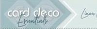Card Deco Linnenkarton 4-kant BLKG-4K5  10 vellen