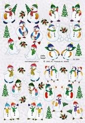 A4 Knipvel Betsy Lurvink GL5004 Sneeuwpoppen