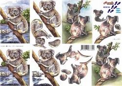 A4 Knipvel Le Suh 8215126 Koala beertjes