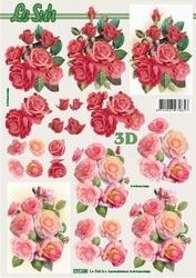 A4 Knipvel Le Suh 777133 Rozen rode/roze