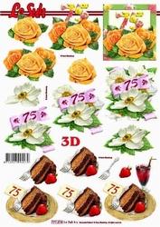 A4 Knipvel Le Suh 777274 Jubileum/verjaardag 75