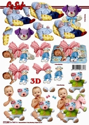 A4 Knipvel Le Suh 777289 Geboorte /baby