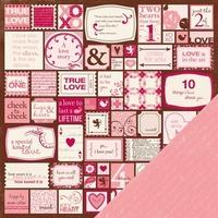 Making Memories vel 33691 Love Struck Valentine tag