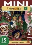 Card Deco Mini Pyramids MPM001 Christmas Time 01