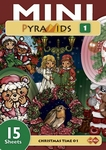 Card Deco Mini Pyramids MPM001 Christmas Time 01