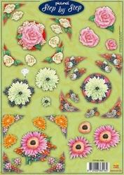 A4 Knipvel Picturel 1095 Smart diverse bloemen
