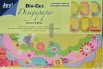 Joy A6 Die Cut Design Paper 8011-0502 Flowers & ...