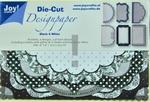 Joy A6 Die Cut Design Paper 8011-0505 Black & White