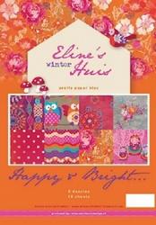 MD Pretty Papers bloc PB7035 Eline's huis Happy & Bright