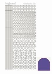 Stickervel Hobbydots Mirror STDM099 Purple/paars