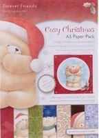 Forever Friends Cosy Christmas FFS 160101 A5 Paper pack