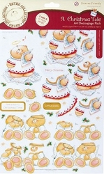 Forever Friends A Christmas Tale 169011 Foiled Die-cut Pack