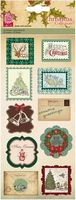 Kars X-mas collection 032/11 3D stickers labels groen