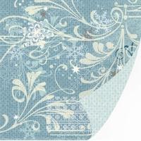 S.E.I. Decoratief papier foil 8-6209 Silver V. blizzard