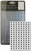 Craft Collection embossing folder CCC4018 Dots