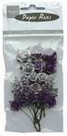 MD Paper Roses RB2210 lavender