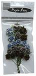MD Paper Roses RB2209 navy blue