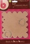Chipboard album PMA 110108 scalloped square