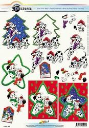 3D Kerstknipvel Universal Pictures 292 Dalmatier