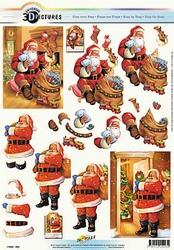 3D Kerstknipvel Universal Pictures 293 Kerstman