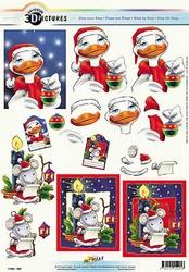 3D Kerstknipvel Universal Pictures 295 Kersteend