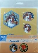 Joy! Pyramid Decoupage 6013/0814 Kerst bloem