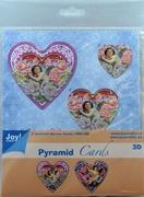 Joy! Pyramid Decoupage 6013/0815 Valentijn hart