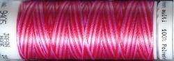Mettler borduurgaren Poly Sheen multi 9405 rood/roze