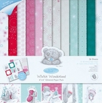 Me To You MTY 160104 Winter Wonderland Glitter Paper Pack