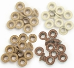 We R Memory Keepers Eyelets assortment glitter 41605-0 brown
