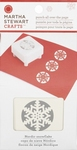 Martha Stewart 90006 Punch all over de page Nordic Snowflake