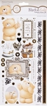 Forever Friends Black & gold 803102 Cardstock stickers