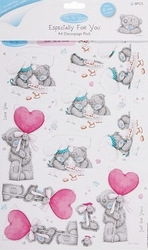 Me To You Especially for You 9003 A4 Decoupage Pack Amore