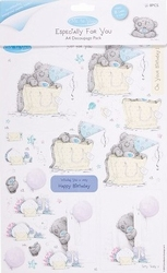 Me To You Especially for You 9000 A4 Decoupage Pack Birthday