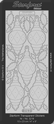 Borduursticker Starform 3218 Ornament