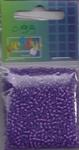 Glaskralen Vaesen rond 2303-0215B inside paars