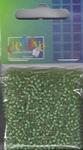 Glaskralen Vaesen rond 2303-0210B inside geelgroen