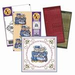 Hobbydots pakketje SET011-02 Koppeltje blauw