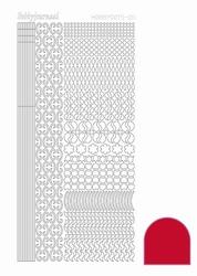 Stickervel Hobbydots Adhesive STDA114 red