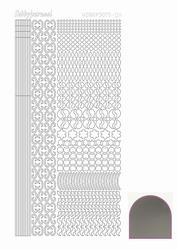 Stickervel Hobbydots Mirror STDM118 silver/zilver