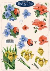 A4 Knipvel Picturel 1045 Bloemen