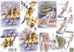 A4 Knipvel Le Suh 8215128 Sport ijsschaatsen/kunstrijden